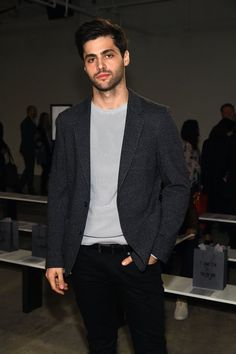 Matthew Daddario New York Fashion Week Men's Fall/Winter