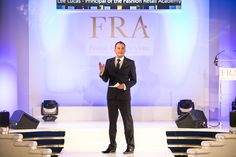 Lee Lucas, Principal of the FRA at the FRA Awards 2015 Awards