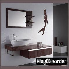 Mermaid Wall Decal - Vinyl Decal - Car Decal - CF8003