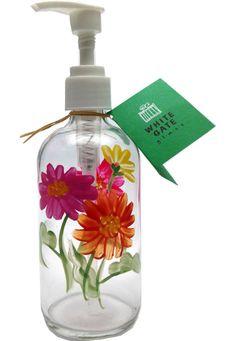 Gerber Daisy Hand Soap Bottle