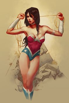 Wonder Woman by Barnaby Bagenda