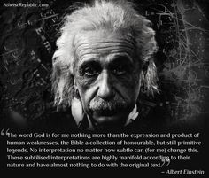 """Albert Einstein's Historic 1954 """"God Letter"""". So please, everyone, stop pinning that stupid debate between the college professor and the student. It wasn't Einstein, and it never happened."""