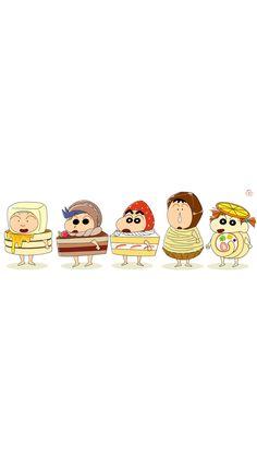 Sinchan Wallpaper, Cute Pastel Wallpaper, Anime Backgrounds Wallpapers, Cartoon Wallpaper Iphone, Kawaii Wallpaper, Cute Cartoon Wallpapers, Sinchan Cartoon, Doraemon Cartoon, Cute Cartoon Drawings