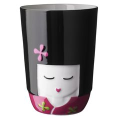 Kokeshi Thermal Cup Pink by Qdo