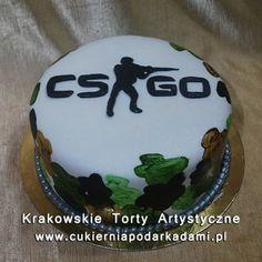 111. Tort dla fana gry Counter Strike. Counter Strike Global Offensive cake.