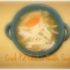 Crock-Pot Chicken Noodle Soup Recipe - ZipList