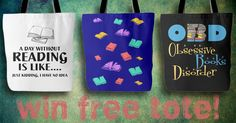 """<a href=""""http://AwesomeLibrarians.com"""" rel=""""nofollow"""" target=""""_blank"""">AwesomeLibrarians...</a> is giving away a tote bag of your choice! Enter your email to win (it's easy)."""