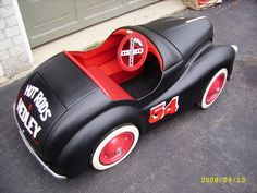 Hedley Hot Rod Pedal Car, for my kid <3