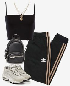 A fashion look from October 2017 featuring adidas Originals, NIKE sneakers and Alexander Wang shoulder bags. Browse and shop related looks. A fashion look from October 2017 by theeuropeancloset featuring adidas Originals, NIKE, Alexander Wang and LowLuv Cute Casual Outfits, Swag Outfits, Mode Outfits, Fall Outfits, Summer Outfits, Sporty Outfits, Kpop Outfits, Dance Outfits, Summer Clothes