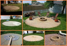 DIY Patio And Fire Pit Tutorial
