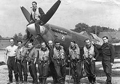 Polish RAF Pilots Fighter Pilot, Fighter Aircraft, Fighter Jets, Vintage Air, Battle Of Britain, Historical Images, Royal Air Force, Aviation Art, Japan