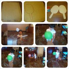 Trabajar con globos la motricidad gruesa
