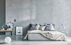 Una fresca camera da letto dai toni naturali - IKEA
