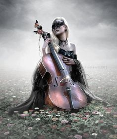 And from her tiny hands the boldest music flowed...