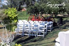Country Chic Barn Wedding | Snippets of Design