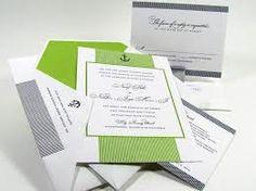 nautical wedding invitations - Google Search