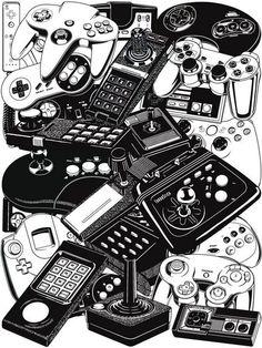 Зависимость от видео игр поглощает меня...