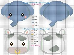 patrones de llaveros a punto de cruz (pág. 3)   Aprender manualidades es facilisimo.com