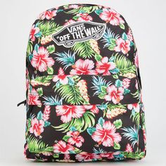 Vans Realm Backpack Black One Size For Women 25112310001
