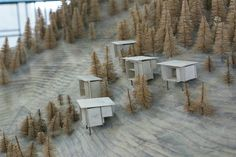 Peter Zumthor, edíficios e projectos Peter Zumthor Architecture, Landscape Architecture Model, Landscape Model, Ancient Architecture, Sustainable Architecture, Architecture Design, Ideas Cabaña, Arch Building, Modern Architects