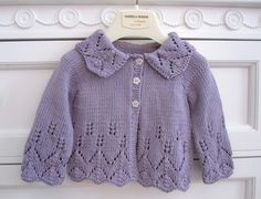 Ravelry: Project Gallery for Design A - Girl's Lacy Cardigan, Hat and Bootees pattern by Sirdar Spinning Ltd.