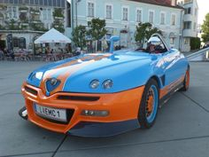 Replika Alfa Romeo Monospider V6 3.0 12V gulf