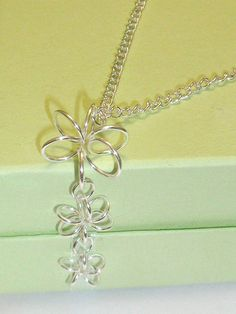 Silver Flowers Necklace https://www.facebook.com/pages/ACD-JewelleryAoife-Cleere-Designs/118025121708054?fref=nf