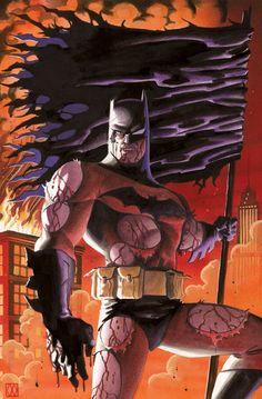 Batman by Matt Wagner  #MattWagner #Batman #ComicArt