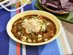 Get Slow-Cooker Pulled Pork Chili Recipe from Food Network