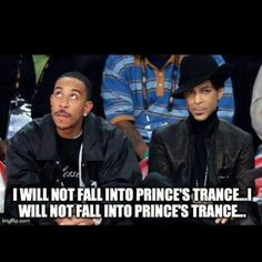 Don't look directly in his eyes  (Prince)