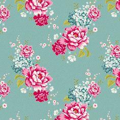 Flowerpatch Teal Tilda.