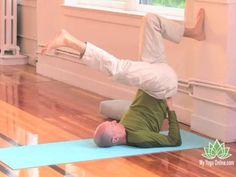Wall Yin Yoga Video with Bernie Clark