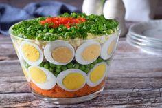 Sałatka z jajkami – Smaki na talerzu