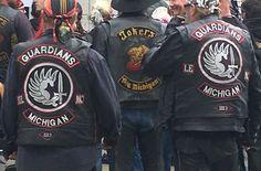 Vietnam Wall Escort, Fremont Michigan, 18 May Biker Vest, Motorcycle Clubs, Gangsters, Bikers, Detroit, Vests, Harley Davidson, Vietnam, Michigan