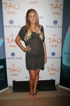 Lauren Conrad hosts at Tao Beach