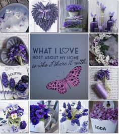 HAPPY FRIDAY, LADIES ♥ What a Stunning Blush Board yesterday for our Pink Fairy!  Thank you, all ~ TODAY, LET'S DO THIS MOOD BOARD OF VIOLETS, PANSIES and LAVENDER ♥ Let's try to find the images by searching for them :)  We can also include like-color, non-flower images, if you want.  I think this will be fun :)  Have a great day, girls ♥