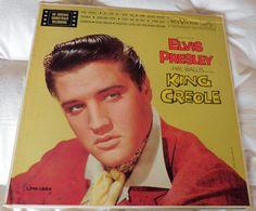 Elvis Presley KING CREOLE LP RCA LPM 1884 Mono Long Play On Label #FilmScoreSoundtrack