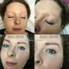 Sleek Brows 3D Brow Building is making a difference with people who have little or no brows.