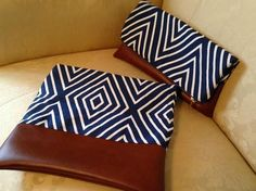 Barbara Huber Designs: Super Easy Fold Over Clutch More