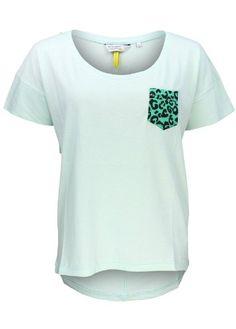 BROADWAY NYC Women's T-Shirt Mint