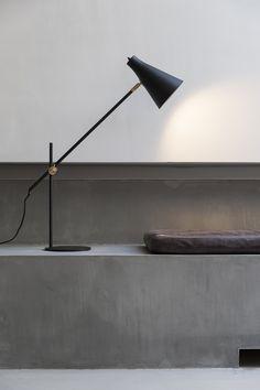 #table lamps #product design #minimal spaces - SP34 Boutique Hotel – Copenhagen, Denmark