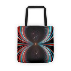 This will look nice in your house: Red Shift + Blue ... Check it out here! http://mattyfieldy.com/products/red-shift-blue-shift-tote-bag?utm_campaign=social_autopilot&utm_source=pin&utm_medium=pin