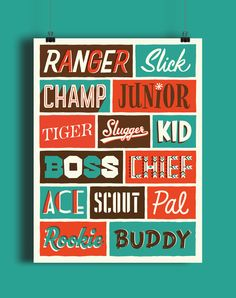 Size - x Printing - Giclée Paper - Epson Enhanced Matte Paper Details - Museum-quality posters made on thick, durable, matte paper. Typography Sketch, Typographic Poster, Types Of Lettering, Hand Type, Poster Making, Epson, Letterpress, Really Cool Stuff, Brave