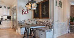 Waverly Drive Custom Home | Portfolio | Patterson Custom Homes - nice small nook