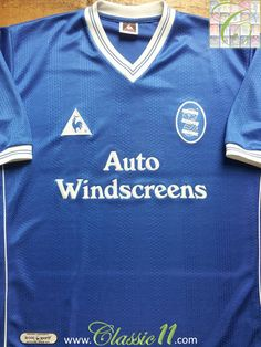 eacd267d5 Relive Birmingham City s 2000 2001 season with this vintage Le Coq Sportif  home football shirt