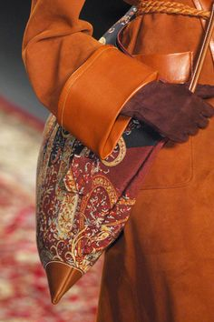 Hermès Cognac and rust. True warm autumn colors