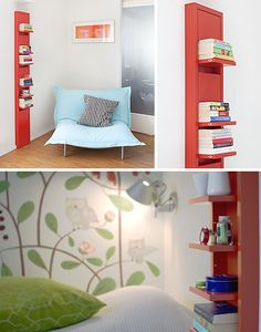These shelves (in red) may be the next thing I buy for our house, once I figure out where they're being sold.
