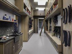 modern tack room from olied oak