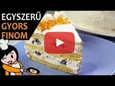 Molten Chocolate, Chocolate Cream, Choco Fresh Torte, Kinder Bueno Recipes, Make Your Own Cookbook, Hungarian Recipes, Cookies And Cream, Homemade Cakes, Food Videos