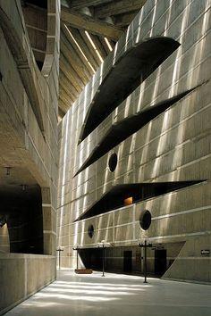 Louis Kahn   National Assembly Building of Bangladesh, 1961-1982, Dhaka, Bangladesh